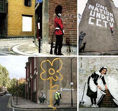 Banksy Graffiti Art Galleries Reality Habit