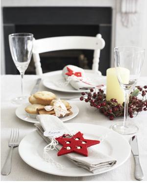 Ideas f ciles para la mesa de navidad for Ideas mesa navidad