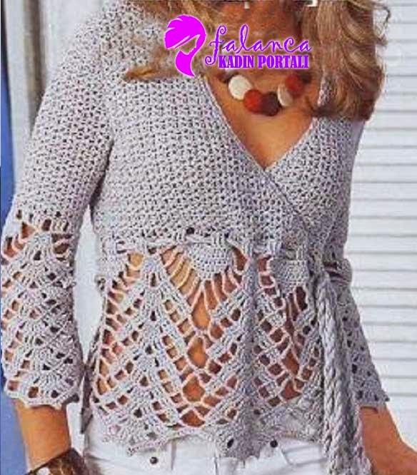 Free Easy Crochet Tunic Patterns Labzada Blouse