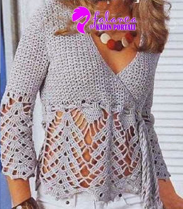 Zurbahan Blog Crochet Blouse Free Pattern
