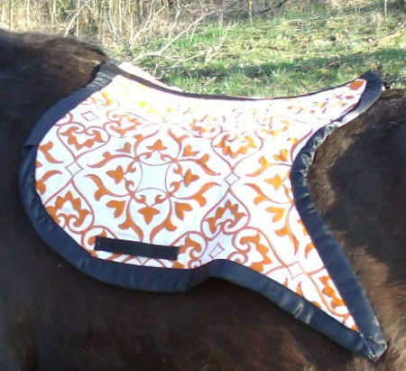 I Made That Myself Swallow Tail English Saddle Pad 2