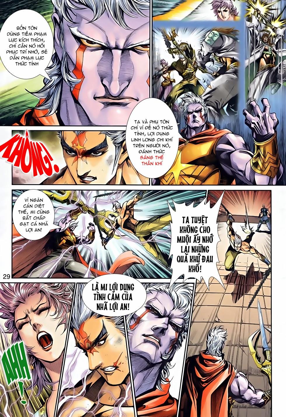 Thần Binh Tiền Truyện 2 chap 21 Trang 28 - Mangak.info