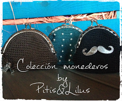 COIN PURSE MONEDERO CROCHET BY PITIS&LILUS