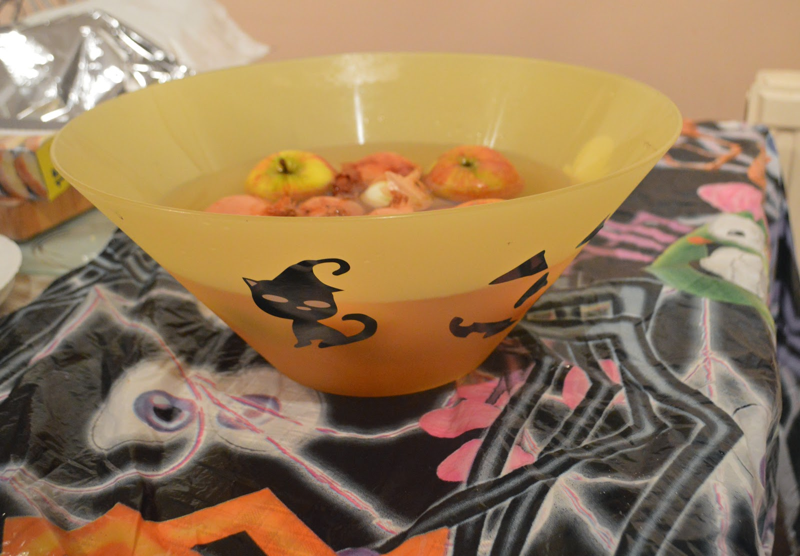 Halloween 2014 Pumpkins Witches Apple Bobbing Party