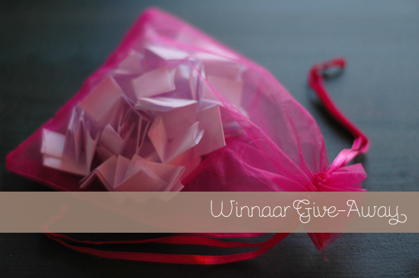 Give-Away winnaar