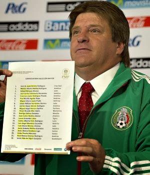 Primera Lista convocados Miguel Herrera