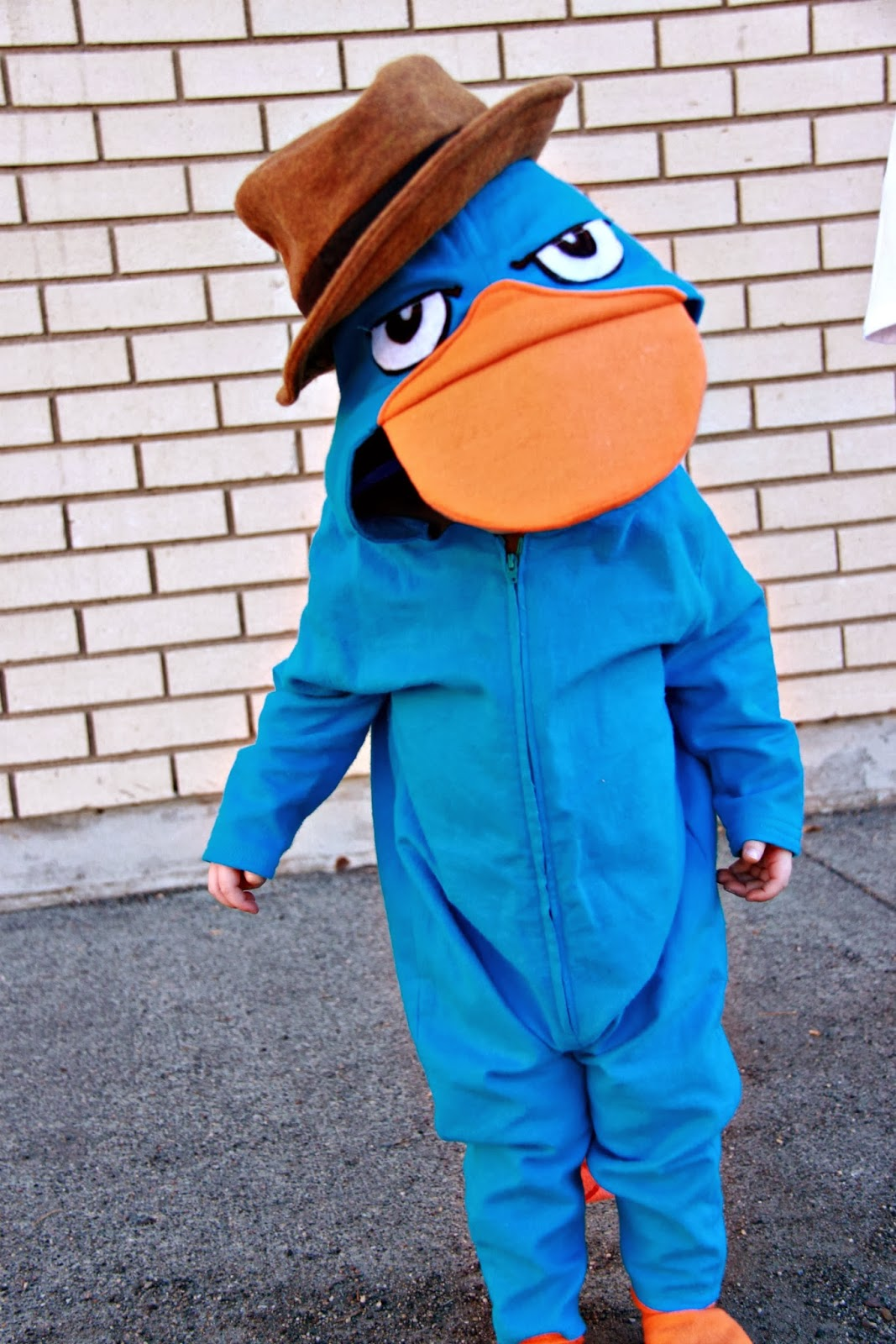 a phineas and ferb halloween perry the platypus - Phineas Halloween Costume