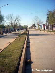Avenida Francisco de Aguirre
