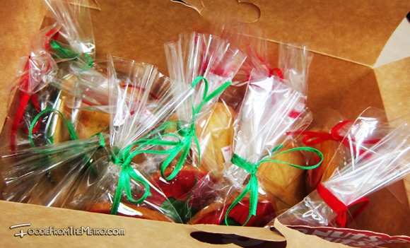 Foodie from the Metro - GoNuts Donuts Christmas Cookies Sugar Coated