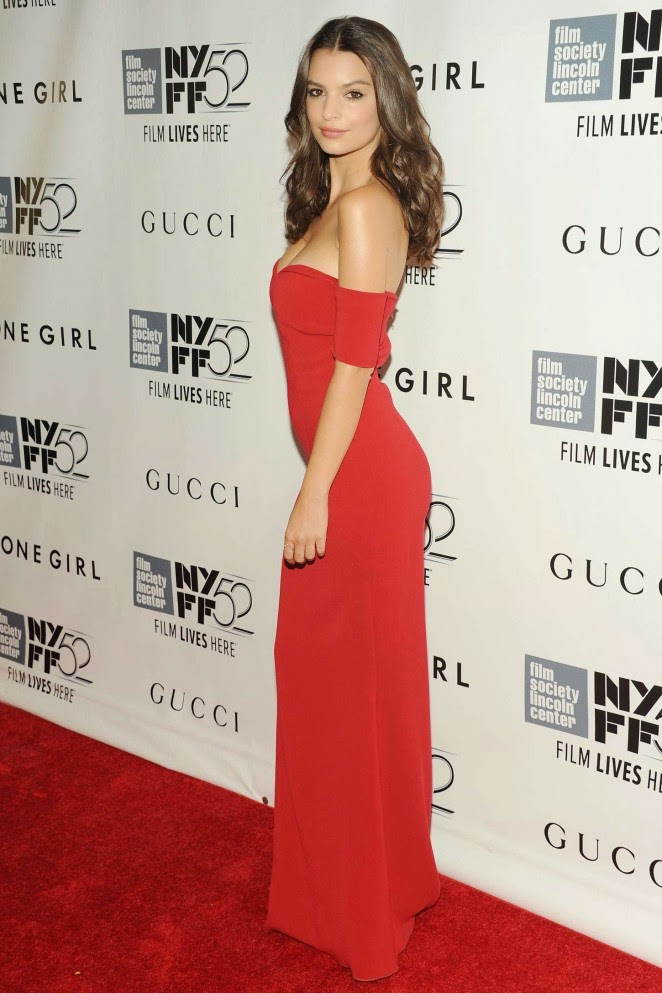 Emily Ratajkowski – 'Gone Girl' Premiere in New York