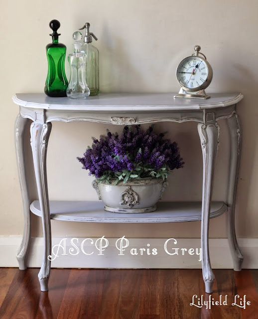 Lilyfield Life: ASCP Paris grey Annie Sloan Chalk Paint