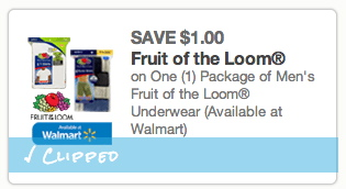 Fruit of the loom printable coupons