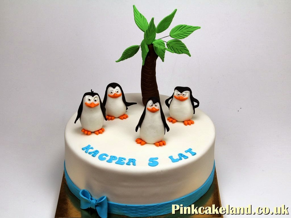 Penguins Birthday Cake, London
