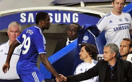 Mourinho y Eto'o