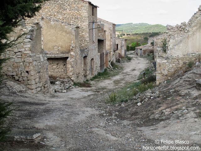 Corbera de Ebro, pueblo viejo