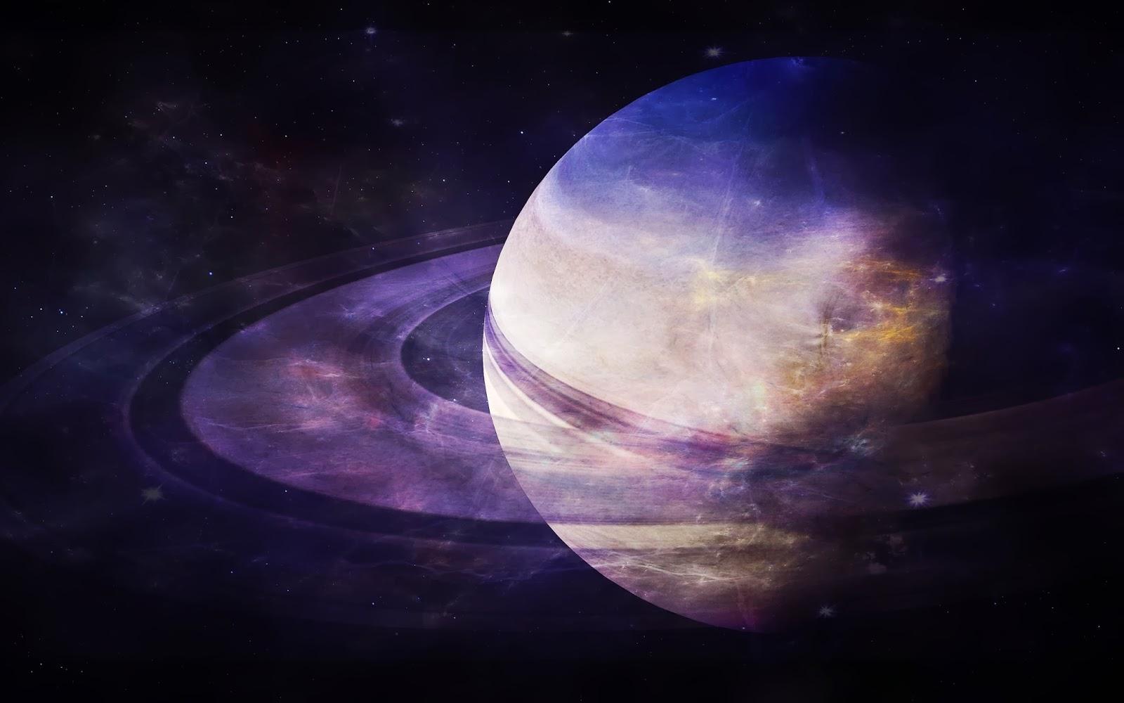 Облака Сатурна (3 фото)