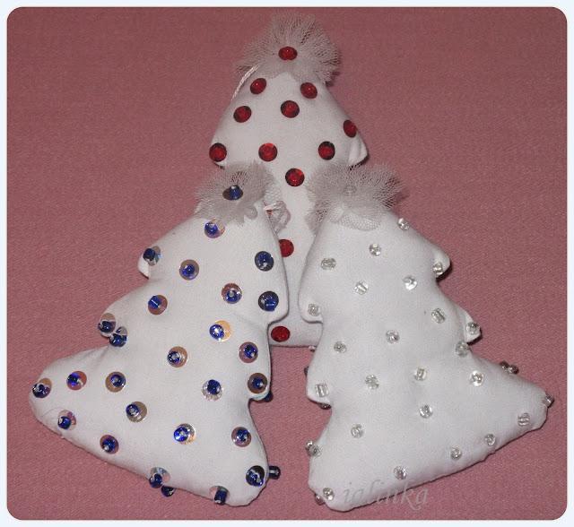 игрушки  на  елку  своими  руками, новый год, рукоделие, декор, блог ольги булычевой