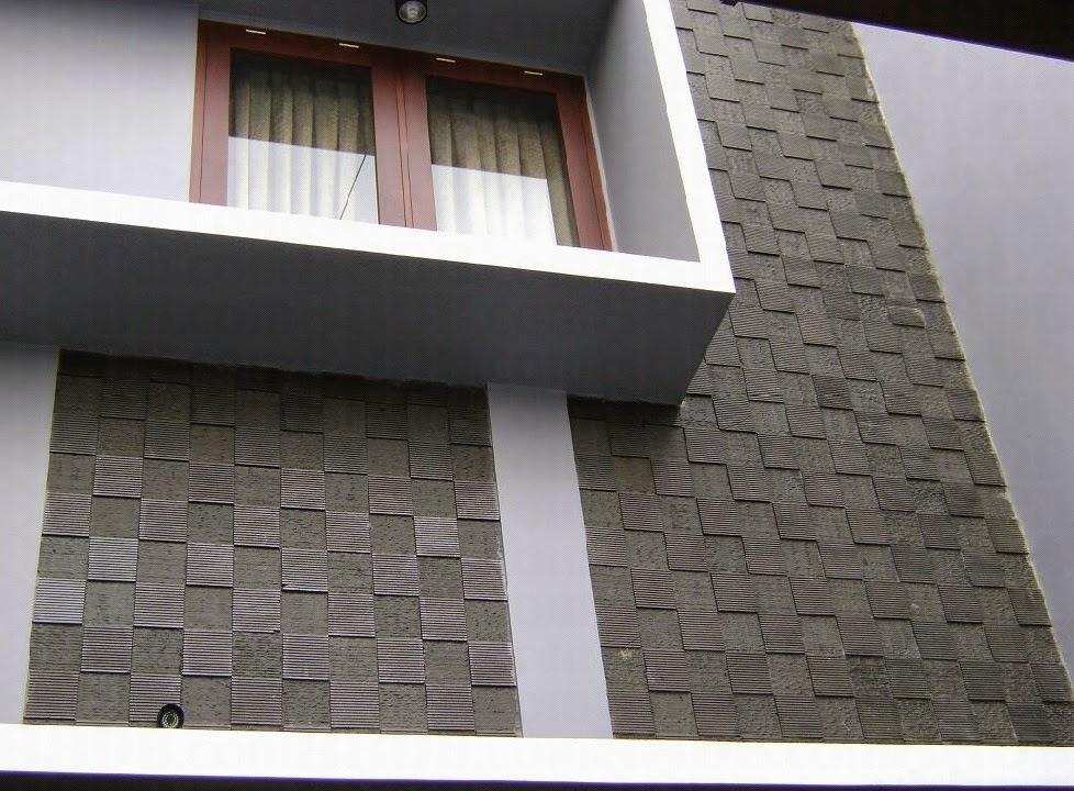 Menilik Rumah Minimalis Variasi Batu Alam