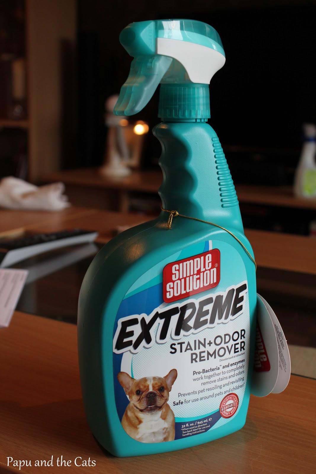 Savun haju pois asunnosta
