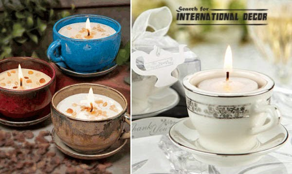Creative recycle ideas, recycle ideas, recycle mugs, candles