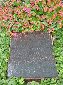Paul Klee's grave