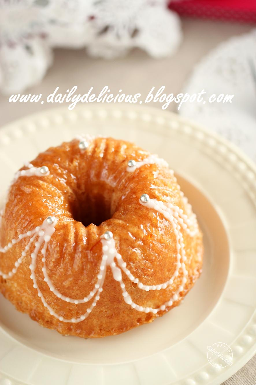 Silicone Bundt Cake Pan Recipe