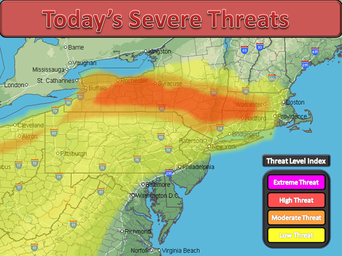 New Forecast On Midweek Severe Weather Outbreak!