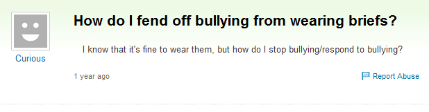 bullying essay yahoo answers