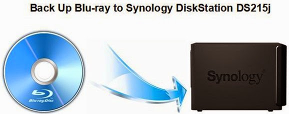 Backup Blu-ray Collection to Synology DiskStation DS215j