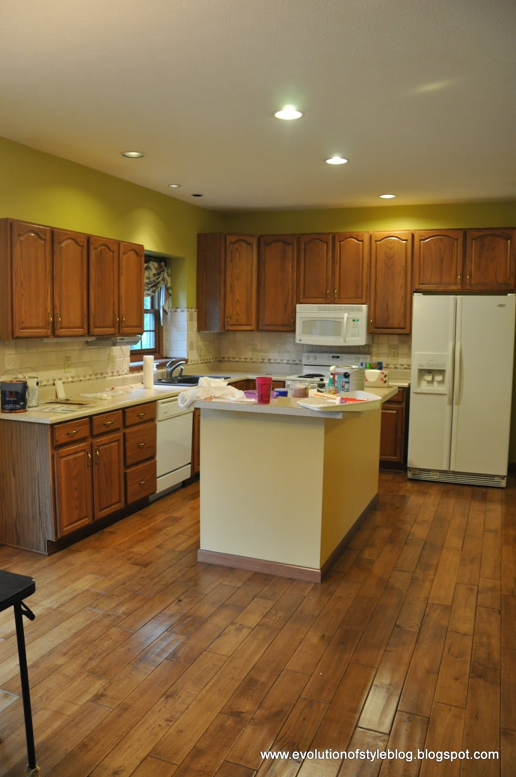 A Beautiful Oak Kitchen Makeover Evolution Of Style