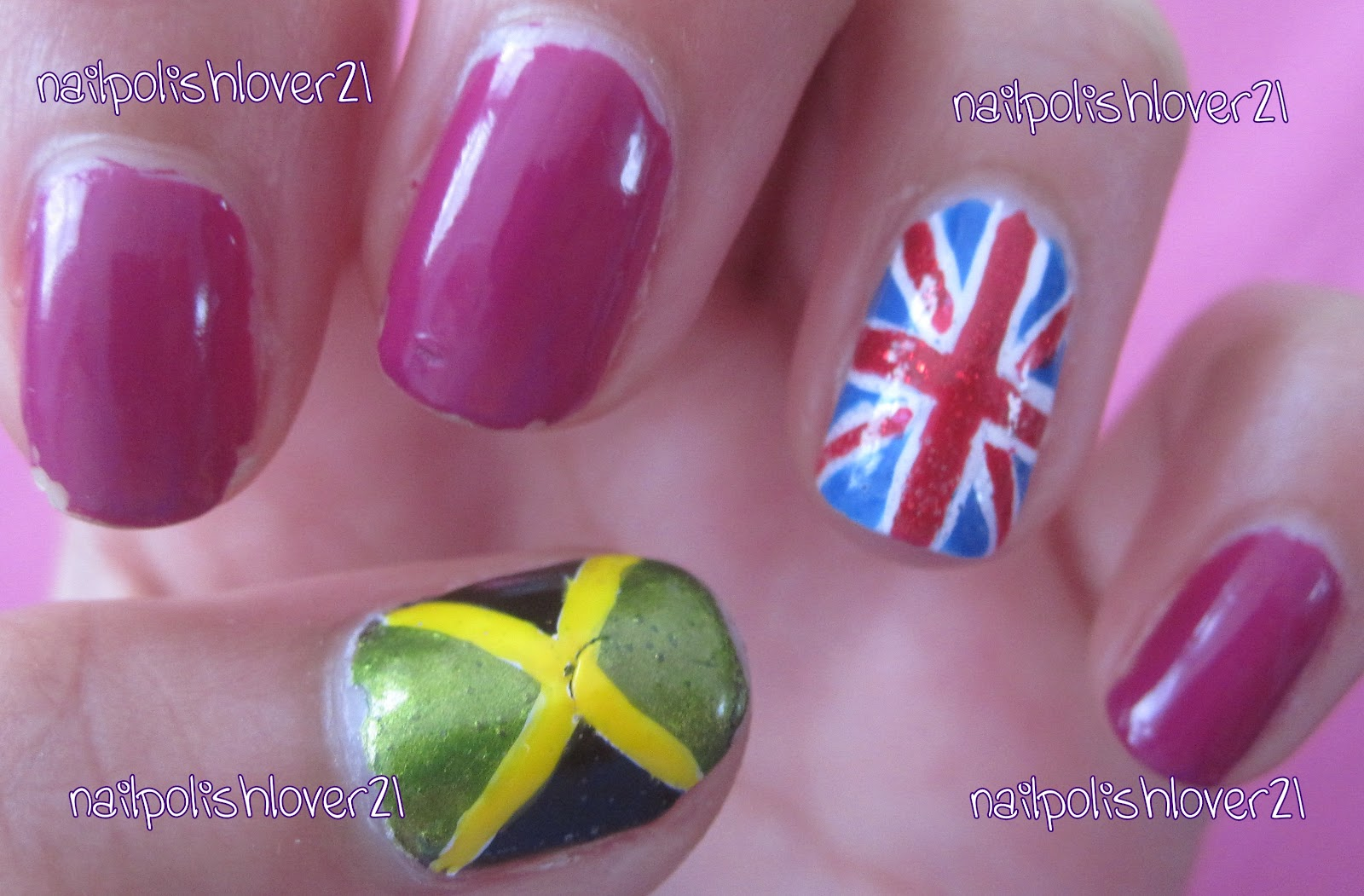 Nail Polish Reviews + Swatches!: Jamaican Flag | A Mixture of Things ...