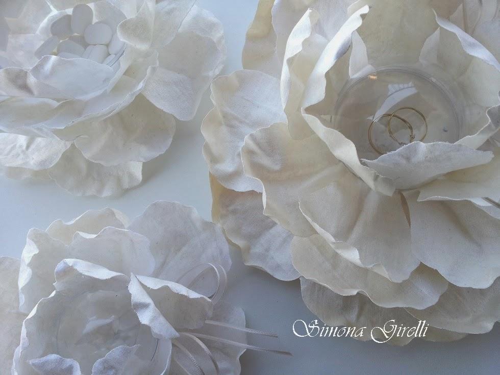 Creazioni in stoffa riciclata da vecchie lenzuola