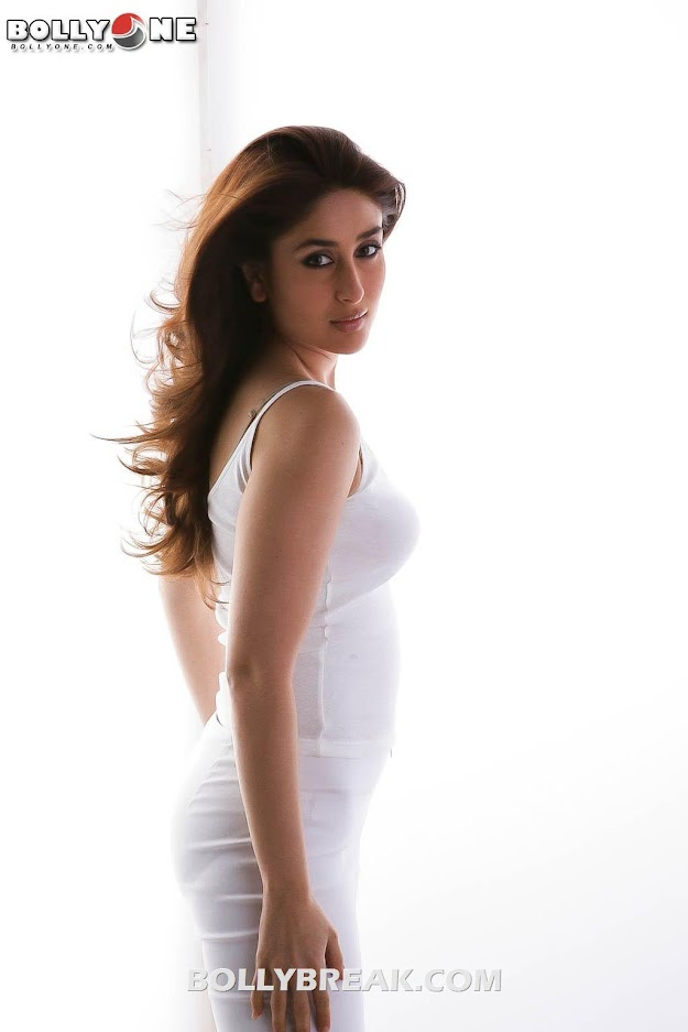 Kareena Kapoor Latest Photoshoot in White - July 2012 Hd Pics