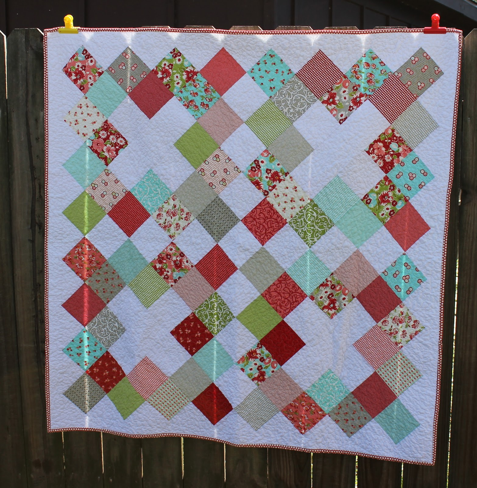 Square Quilt Patterns Interesting Decorating Design