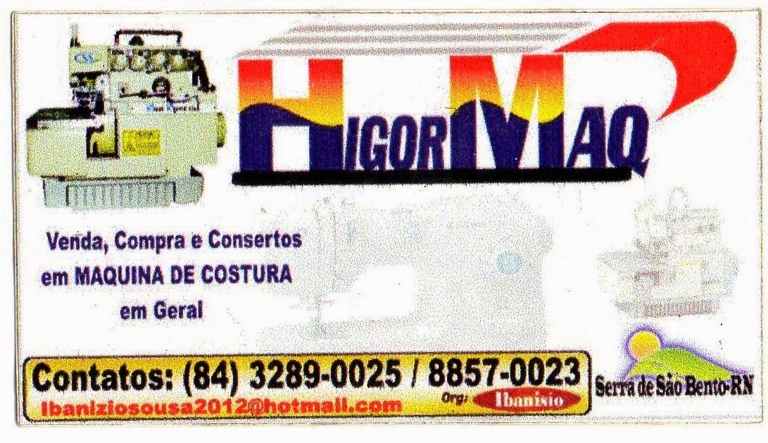 HigorMaq - Consertamos sua Maquina de Costura.