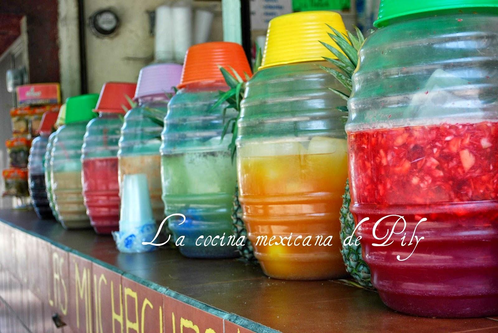 Aguas frescas aguas de sabores 35 recetas diferentes for Aguas frescas citricas naturales con