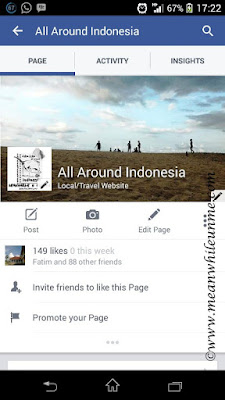 Facebook fanspage All around Indonesia