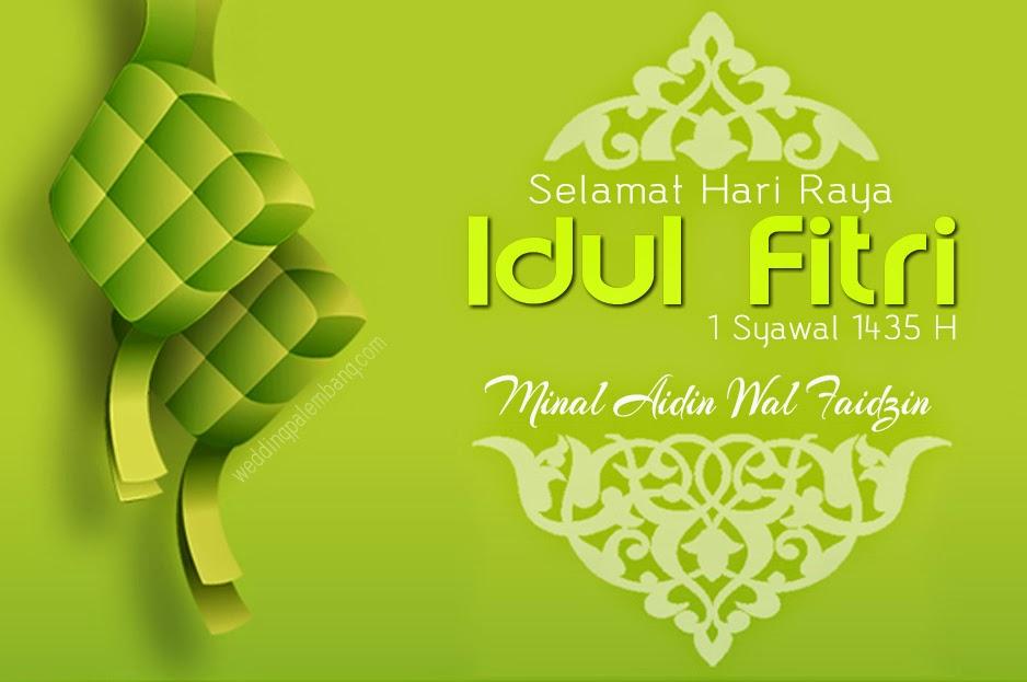 Gambar Kartu Ucapan Lebaran Idul Fitri 1435 H / 2014 Terbaru | JUTAAN ...