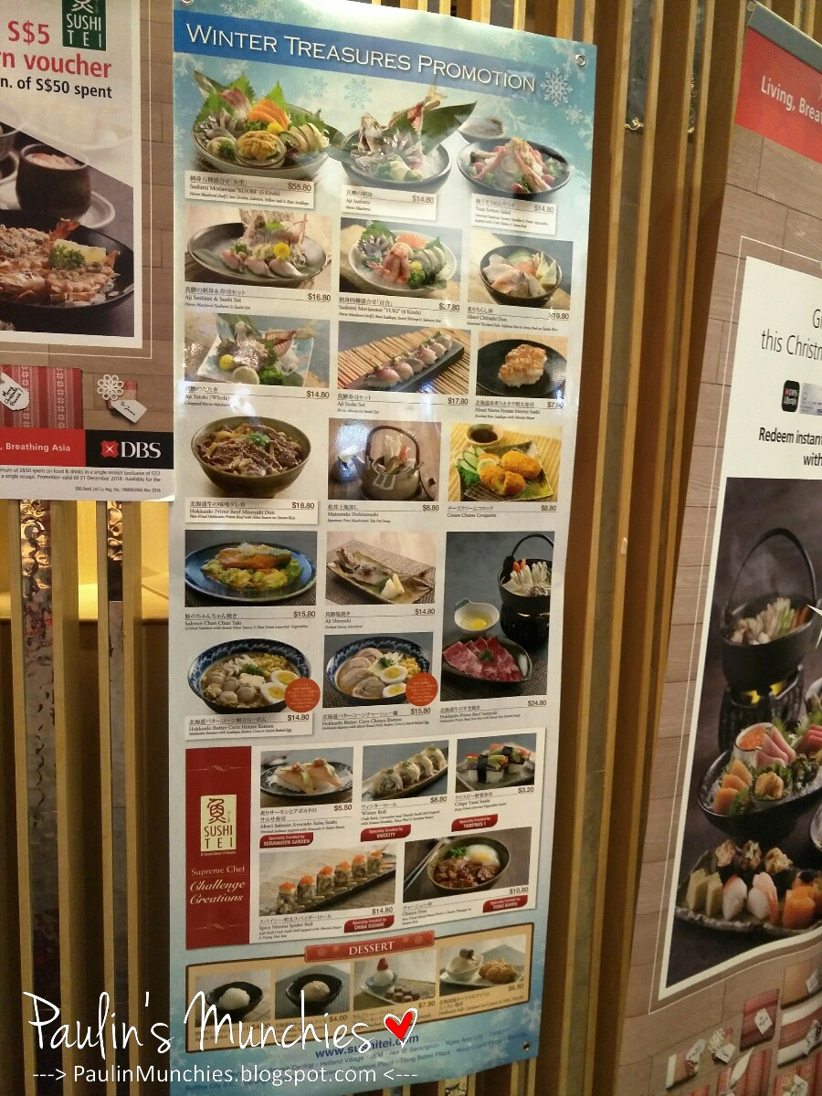 Sushi Tei @ JEM - Paulin\'s Munchies - My food discoveries.