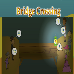 Bridge Crossing Brain Teaser Game