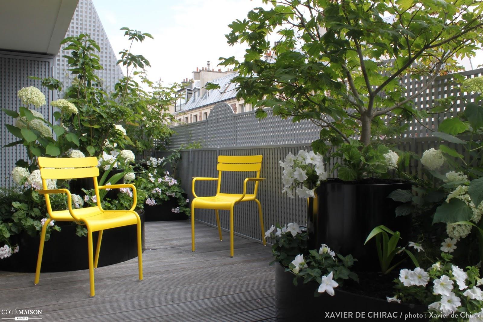 Semaine 29 2015 sur les blogs d co for Jardin xavier de chirac