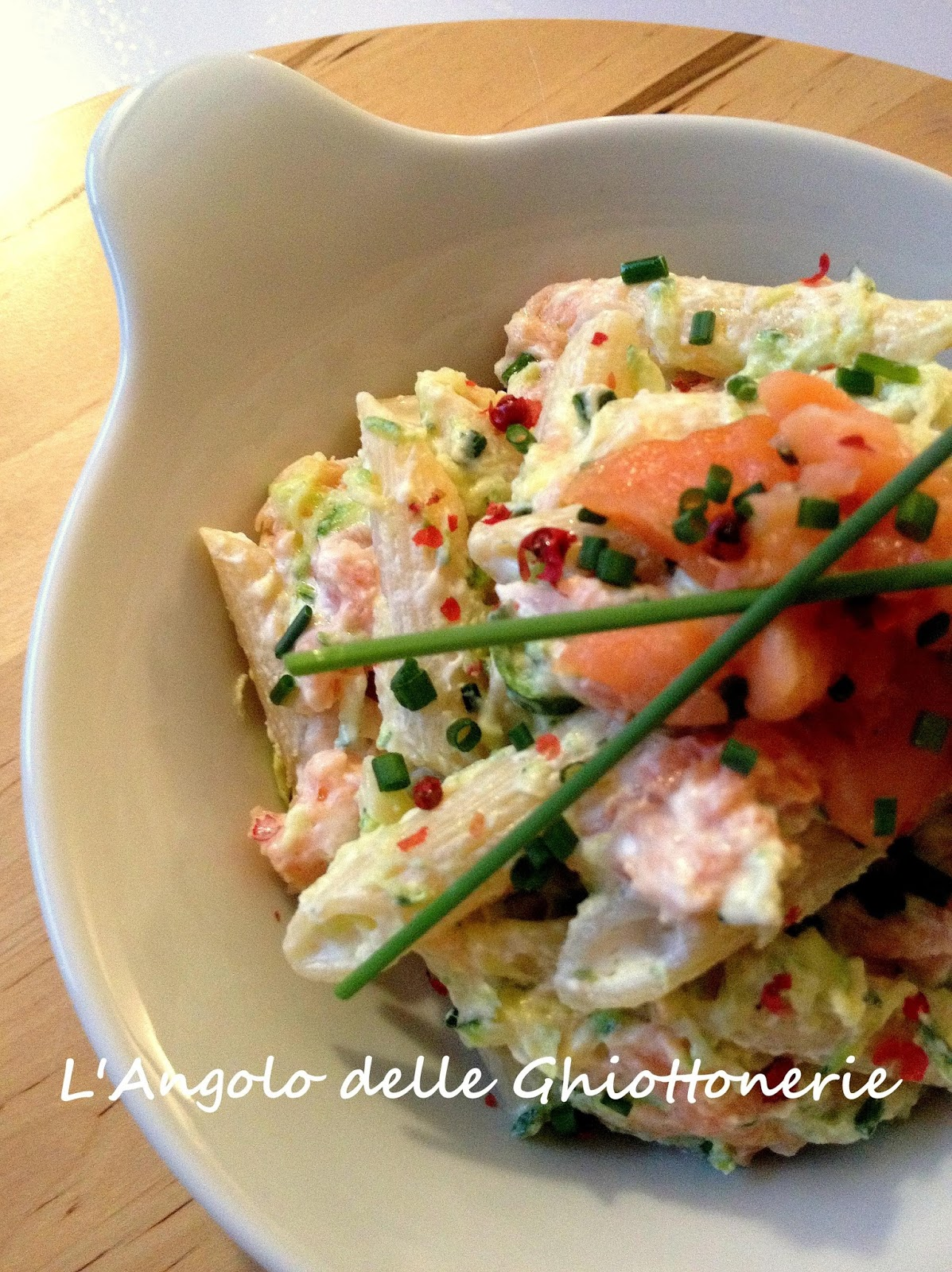 Amato L'Angolo delle Ghiottonerie: Insalata di pasta con yogurt greco  TS36