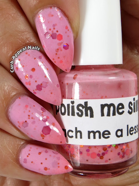 Polish Me Silly Peach Me A Lesson Thermal Swatches