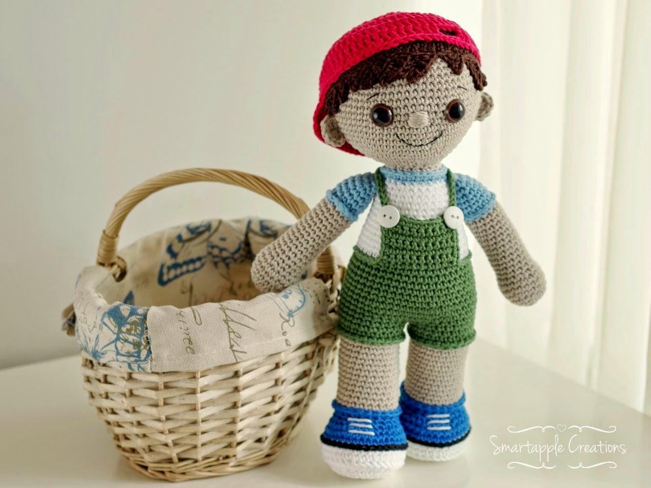 Amigurumi Dolls Free Patterns : Smartapple creations amigurumi and crochet new pattern tobias