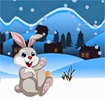 Games2Rule Snow Rabbit Escape Walkthrough