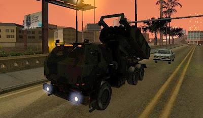Mod M142 Himars Artillery + Missile