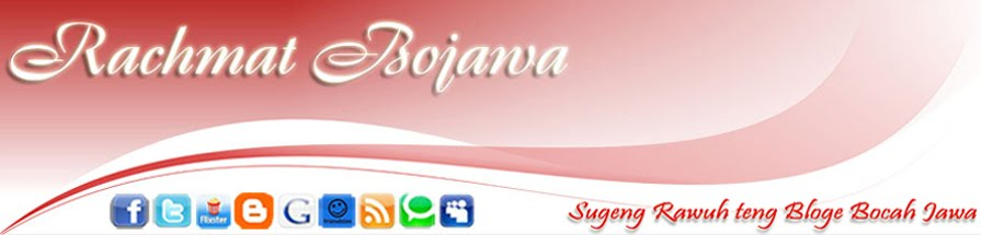 Rachmat Bojawa Blogs