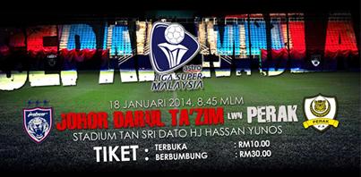 Perlawanan Bola Sepak Malaysia Perlawanan Bola Sepak Jdt vs