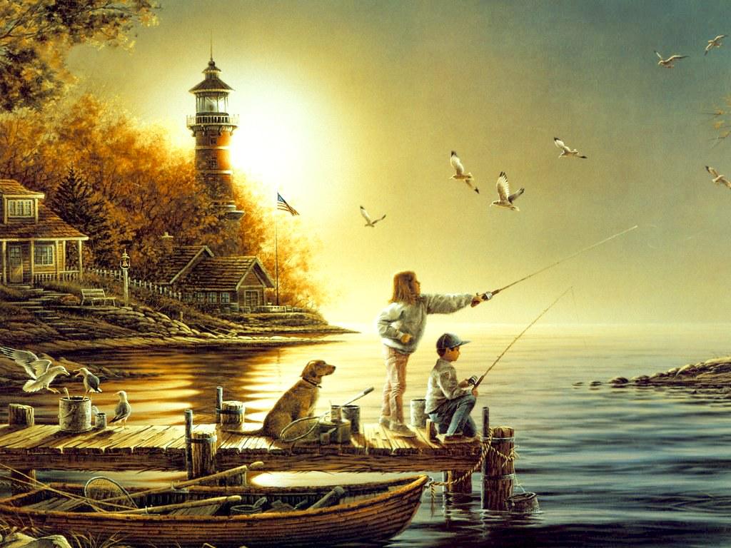 Omaž ribolovcu i ribolovu - Page 4 Child+fisherman
