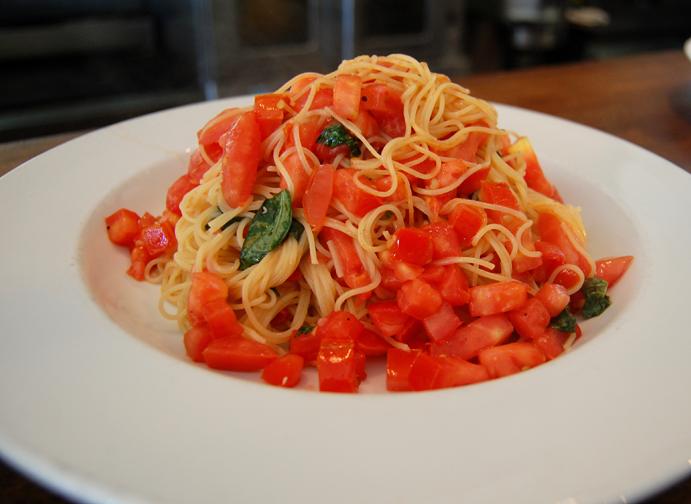 Rosti Tuscan Kitchen Angel Hair Pasta Tomatoes Olive